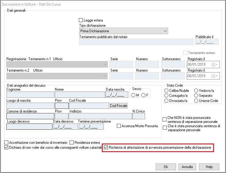 Successione_richiesta presentazione