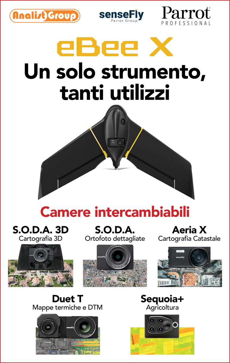 Drone senseFly eBee X