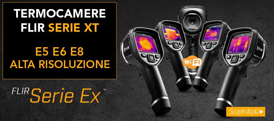 Nuove termocamere FLIR XT