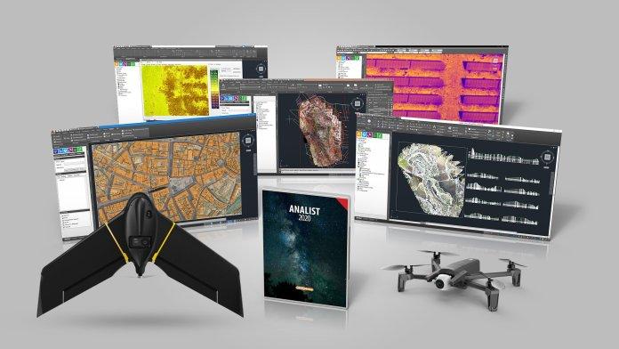 Soluzione ANALIST CLOUD con drone Parrot ANAFI o senseFly eBee X