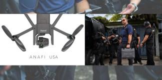 Parrot ANAFI USA per le Forze dell'Ordine