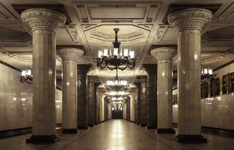 Metro station Russia Anastasia Date
