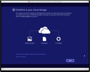 Windows10 インストール画面