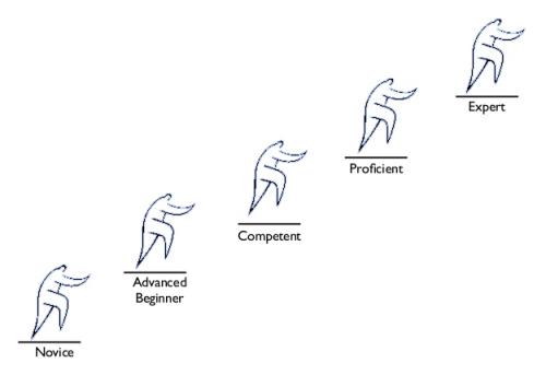 Estágios da Aprendizagem (Patrick Kua)