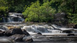 Photography of the Falls of Dochart