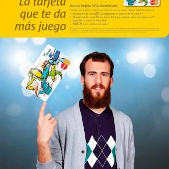 Angel García, Photographer realiza la campaña para tarjeta DISA MasterCard con Sergio Rodríguez «El Chacho»