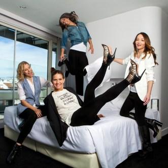 Ana Antic, María León, Mariam Hernández y Samantha Vallejo-Nágera para YoDona