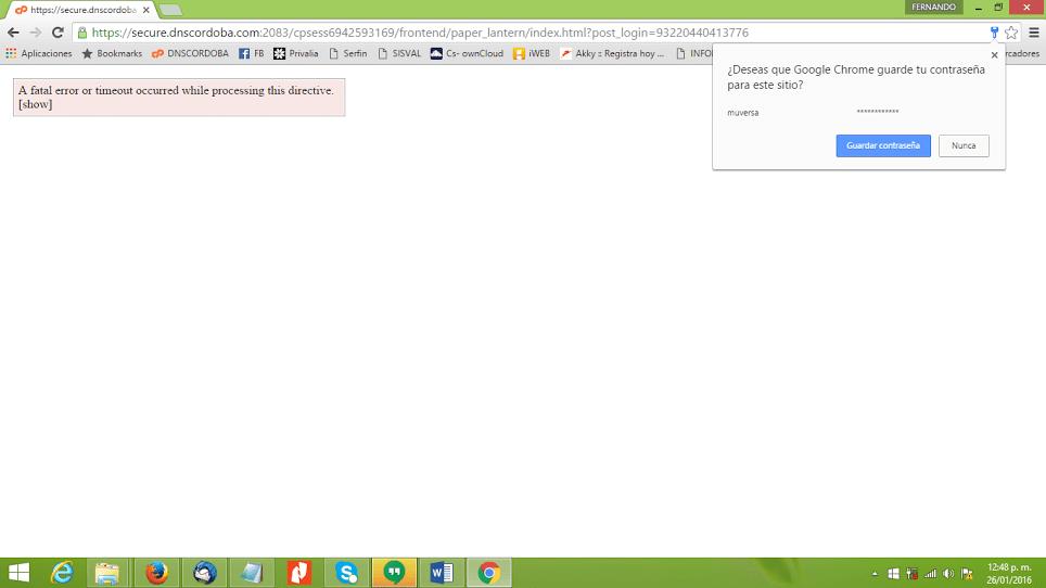 Resolver el error al entrar a cPanel teniendo cloudLinux