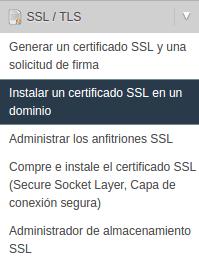 Generar e instalar un certificado gratuitamente con let's encrypt en centos y whm