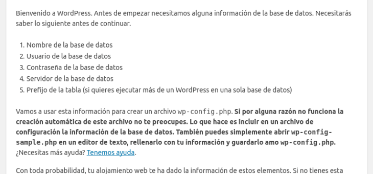 Instalar y configurar WordPress en Linux