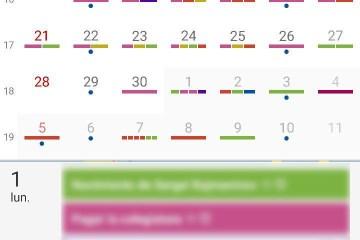Calendario en Android