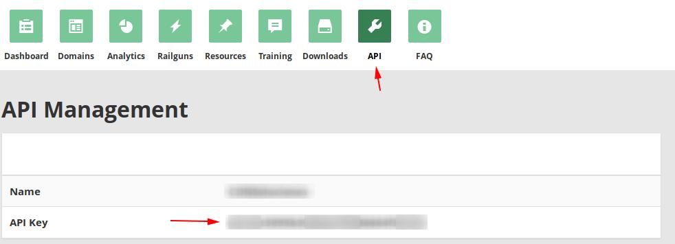 Cloudflare Partnet API
