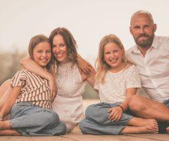 Vrolijke gezinsreportage bij geregenheid :-)