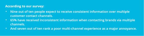 Poor multichannel service