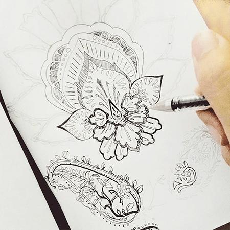Paisley Sketch