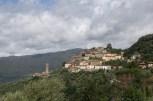 Dorf in der Toscana - vorher