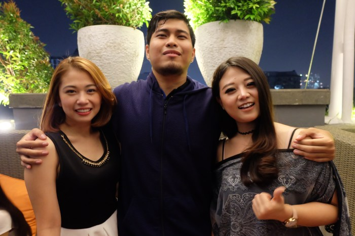 Cheryl, Antony, dan Fransischa Sachi