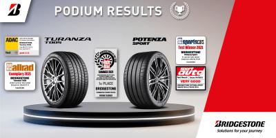 Bridgestone – Producatorul anului pe anvelope de vara