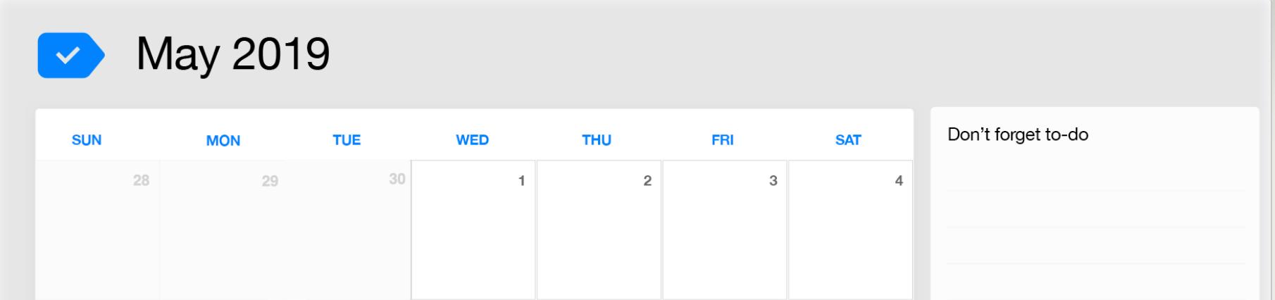 May 2019 Printable Calendar | Any do