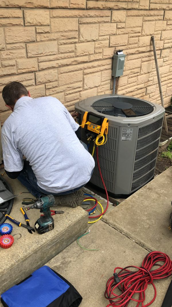 New Air Conditioning Installation in Northbrook Illinois