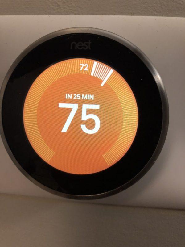 Nest Thermostat Installation Mount Prospect IL