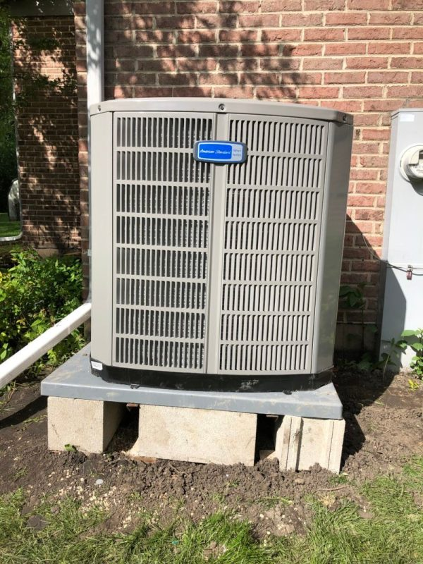 New American Standard 5 Ton Air Conditioner Unit in Des Plaines IL