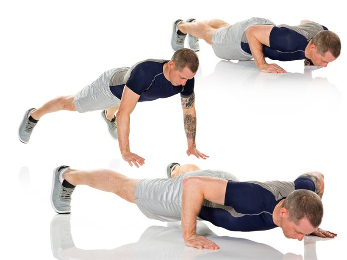 In-Out Power Push-Up