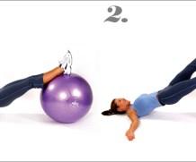 mediBall Exercises – Hip Extension Single Leg Lift