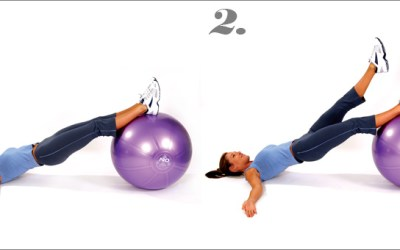 mediBall Exercises – Hip Extension Single Leg Lift