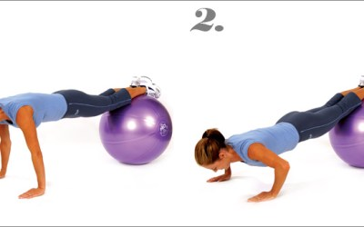 mediBall Exercises – Push Up