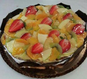 Tarta Milhojas de Frutas