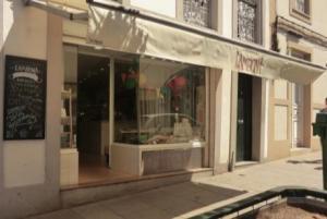 Exterior de la Pastelería Lambona