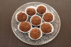Brigadeiros de Chocolate con Leche