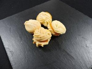 Galletas rellenas de mermelada