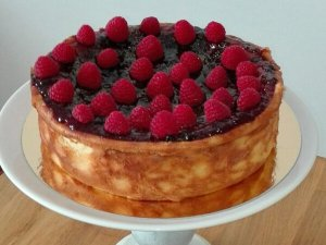 Cheese Cake de arándanos y Frambuesas