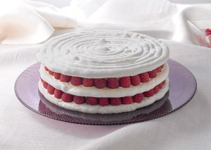 Tarta de Merengue y Frutos Rojos