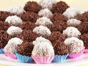 Bombones de Chocolate y de Coco