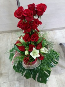 Centro de Rosas Ikebana