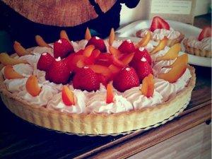 Tartaleta de Fresas sin azúcar