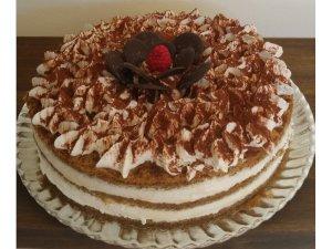 Tarta de Moka sin azúcar