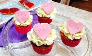 Cupcakes con motivos para celebración