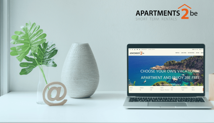 new website for tourist apartments and accommodation