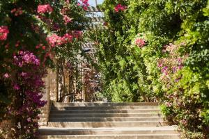Stairs of Joan Miró Park