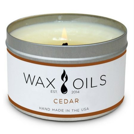 Fall Scented Candles That Won't Give You A Headache | Wax Oils: Cedar Candle