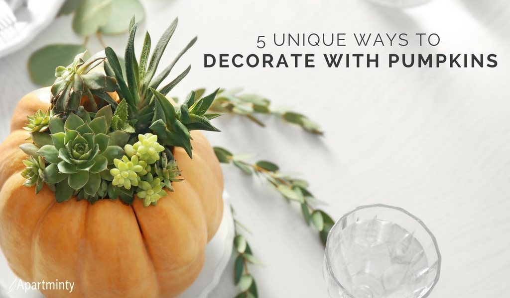 Unique Ways To Decorate With Pumpkins