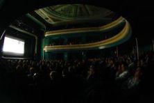 El Teatro Zorrilla lleno en la inauguración (Fuente: festivalfilmets.cat).
