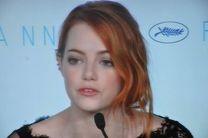 "Emma Stone en rueda de prensa ""The Irrational Man""."