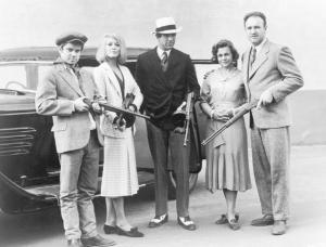 La tropa Barrow de Bonnie & Clyde (Imagen de nydailynews.com)