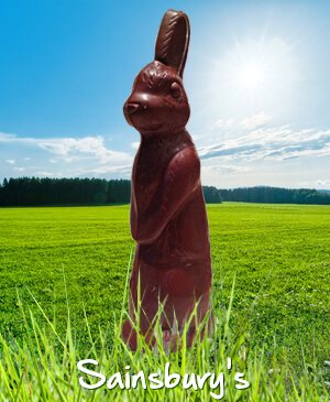 He's the bruiser of our bunnies - but dark choc divides