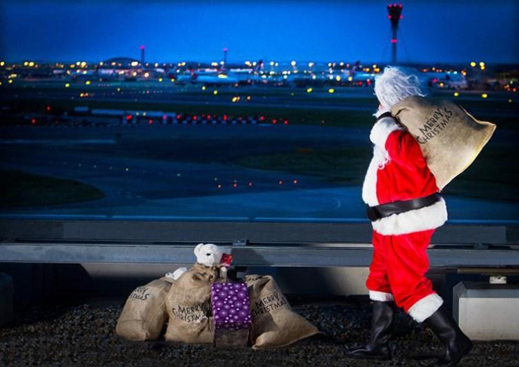 luxurious Christmas at Heathrow
